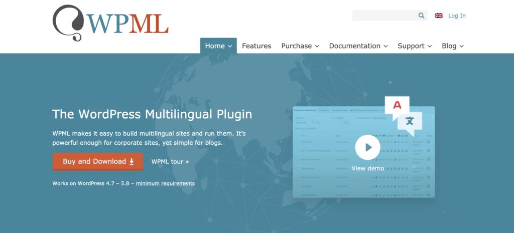 WPML WordPress translation plugin