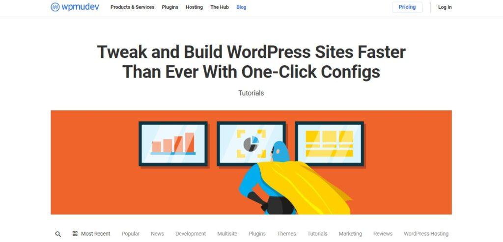 top wordpress blogs to read - WPMU Dev Blog