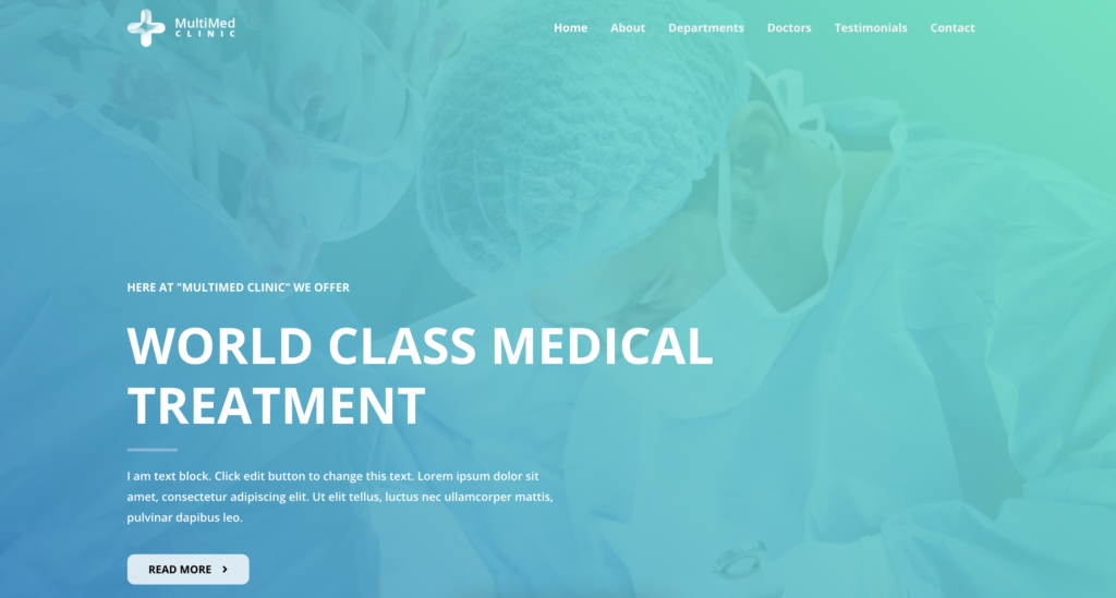 Astra medical WordPress themes