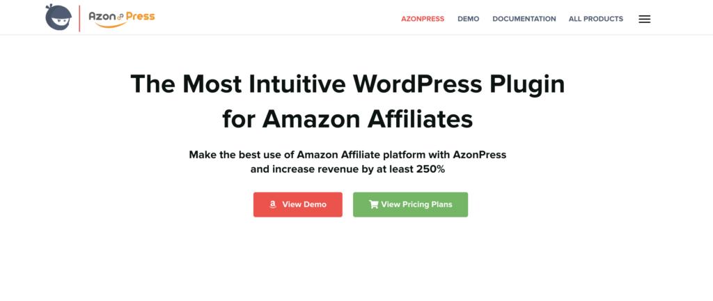 AzonPress Amazon Affiliate wordpress plugin