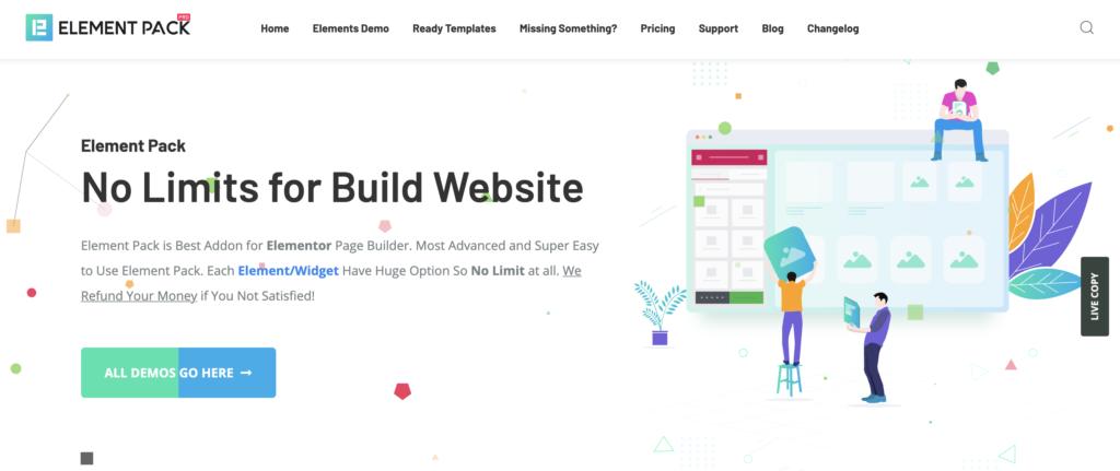 Element Pack for WordPress infographics