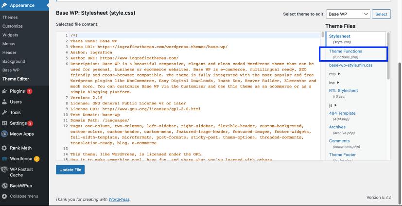 Create WordPress custom taxonomies with code