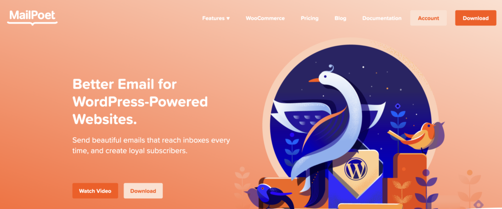 MailPoet WordPress lead generation plugin