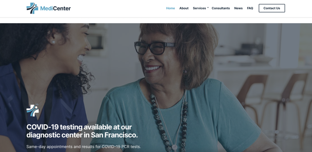 Medicare medical WordPress theme