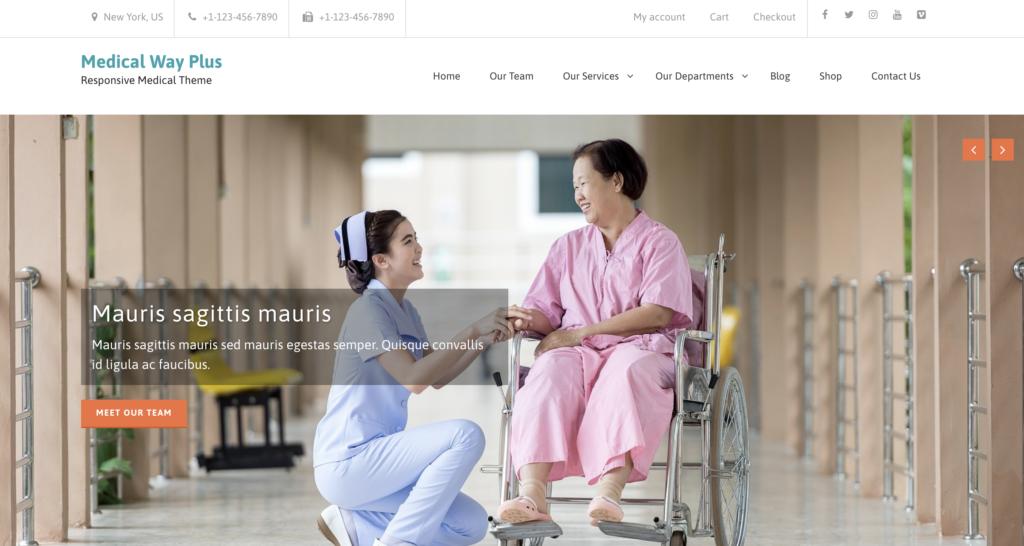 Medical Way medical WordPress theme