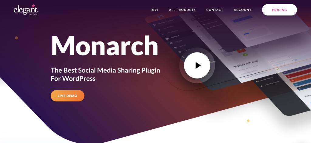 Monarch sidebar plugins for WordPress