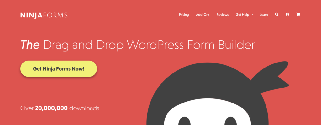 Ninja Forms sidebar plugins for WordPress