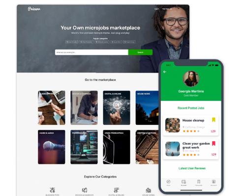 Wordpress Microjobs Pricerr Theme