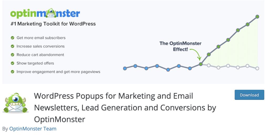 OptinMonster WordPress lead generation plugin