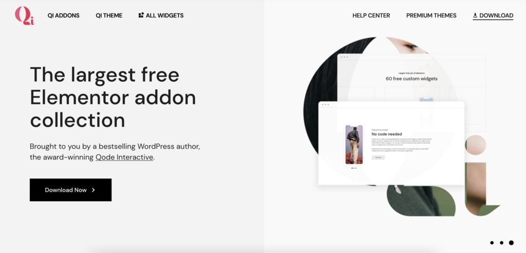 Qi Addons for WordPress infographics