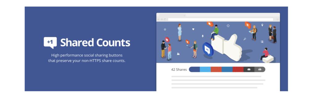 Shared Counts WordPress twitter plugins