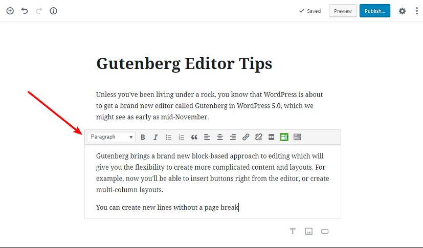 Disable WordPress block editor
