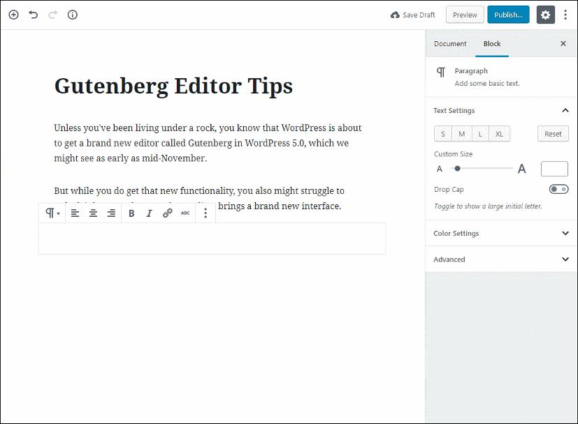 Use Markdown Syntax on WordPress block editor