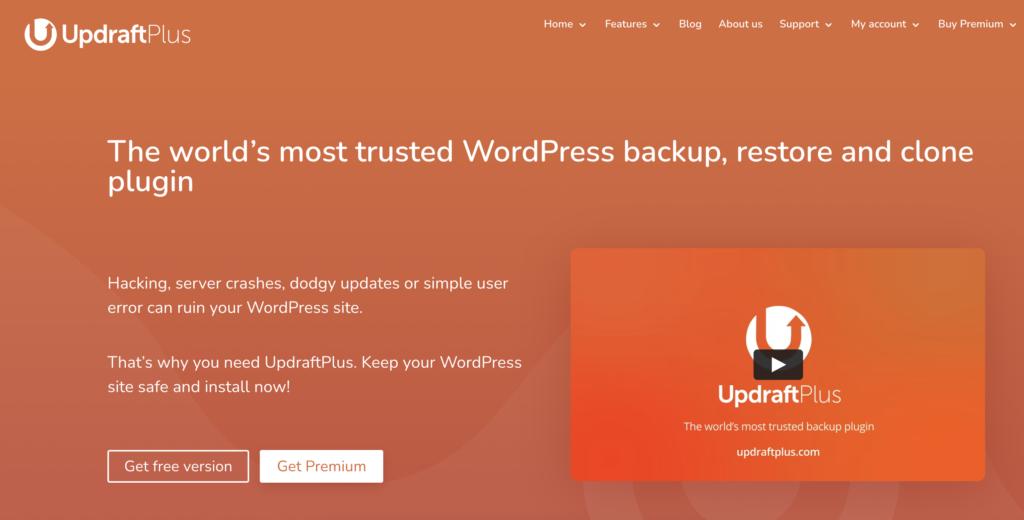 WordPress backup to Dropbox via Plugin