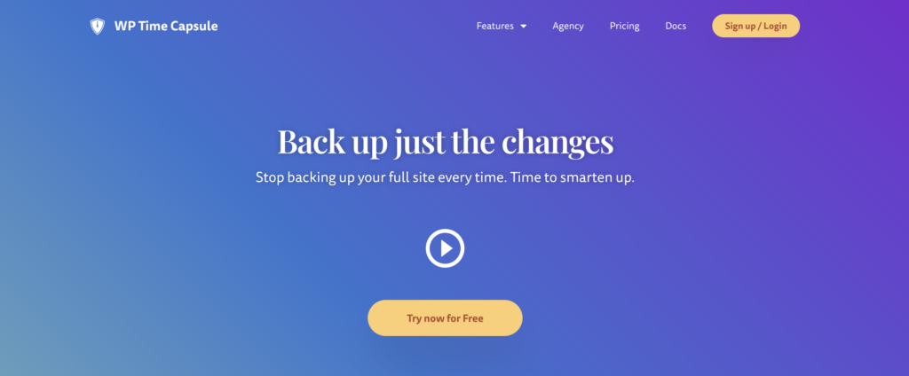 WordPress backup to Dropbox with Wp Time Capsule