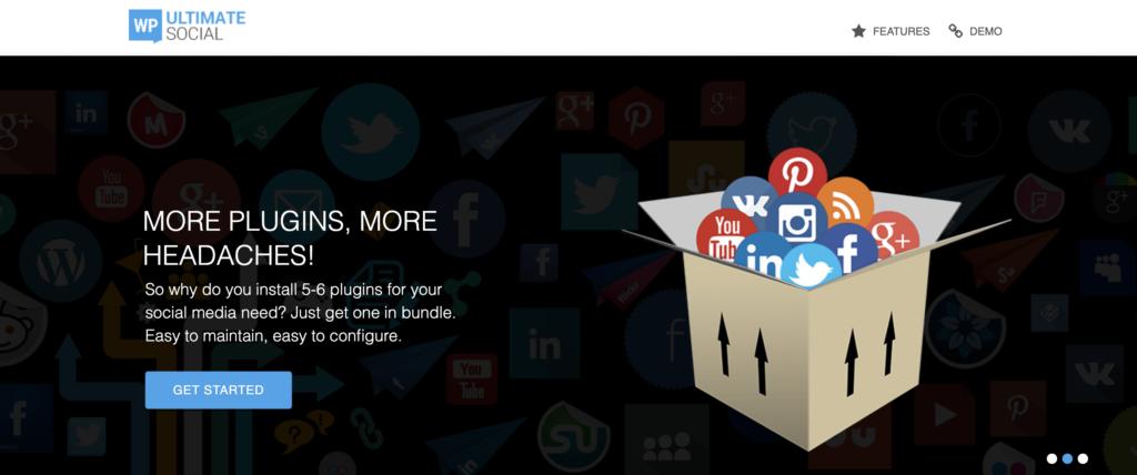WP Ultimate Social WordPress LinkedIn plugin