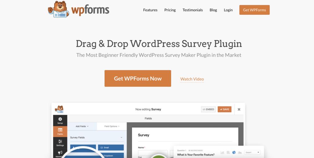 WPForms for WordPress infographics
