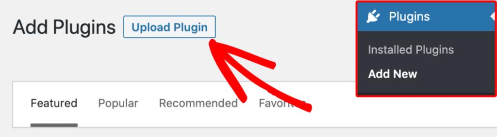 WPForms - upload plugin