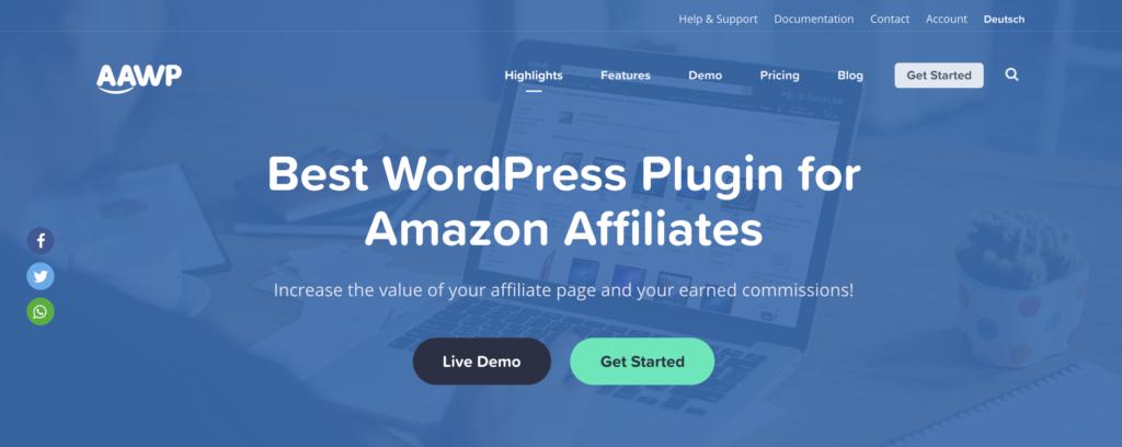 WordPress Plugin for Amazon Affiliates