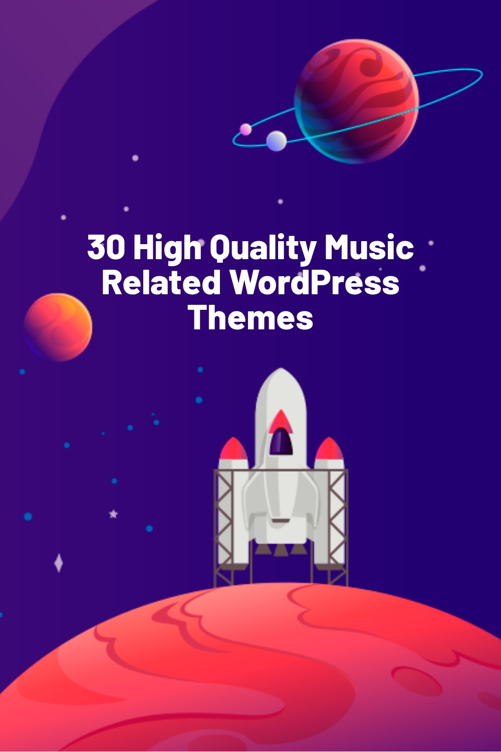 30 High Quality Music Related WordPress Themes