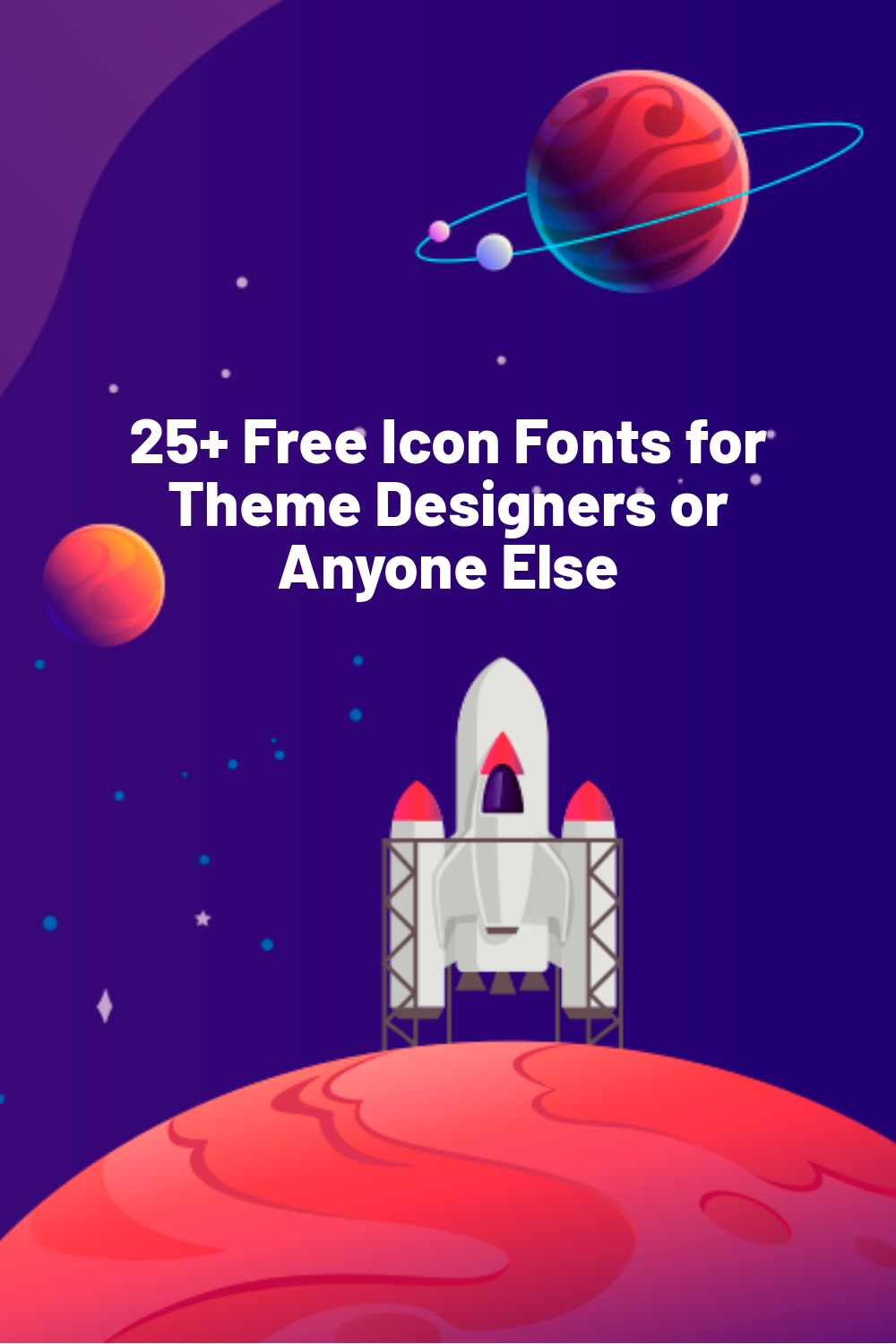 25+ Free Icon Fonts for Theme Designers or Anyone Else