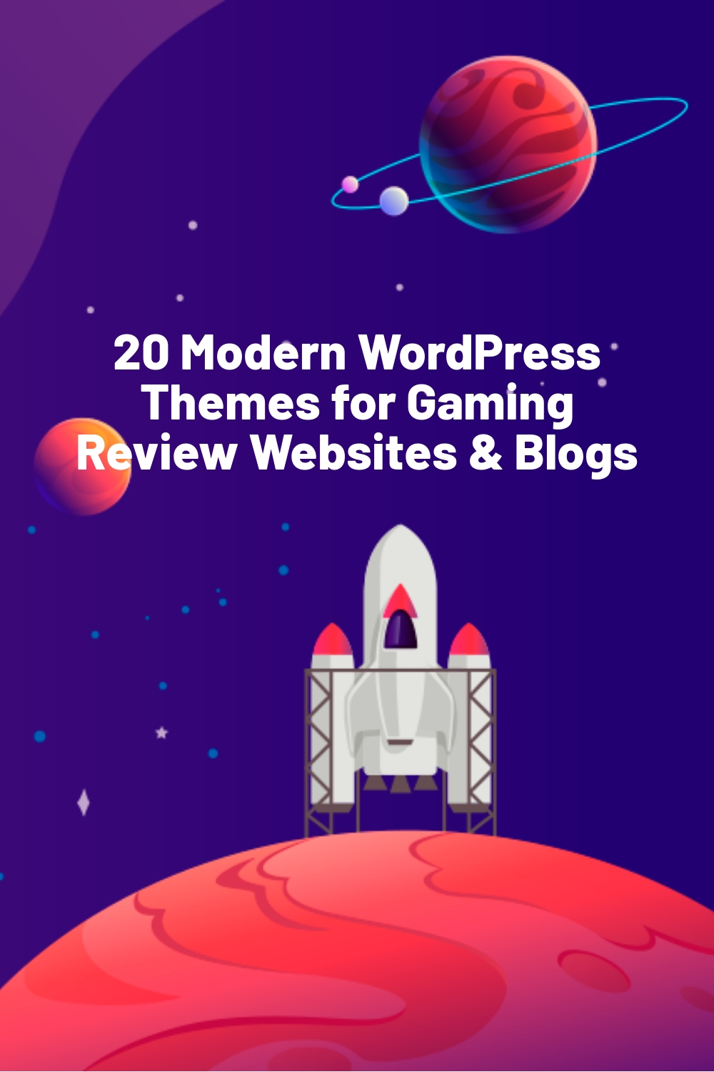 20 Modern WordPress Themes for Gaming Review Websites & Blogs