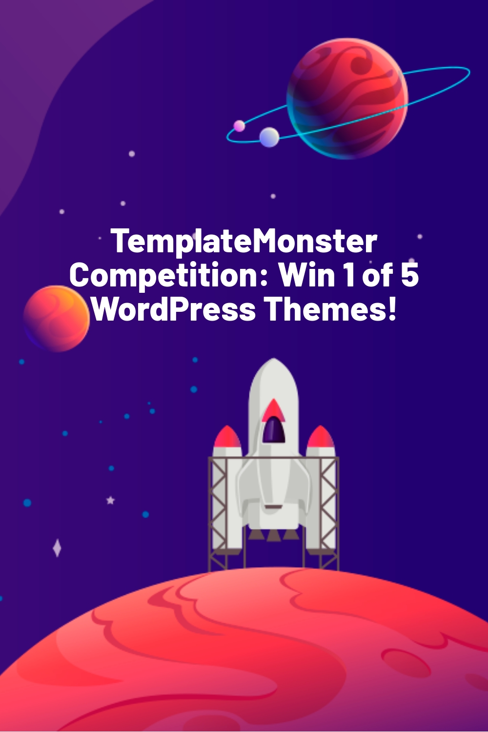TemplateMonster Competition: Win 1 of 5 WordPress Themes!