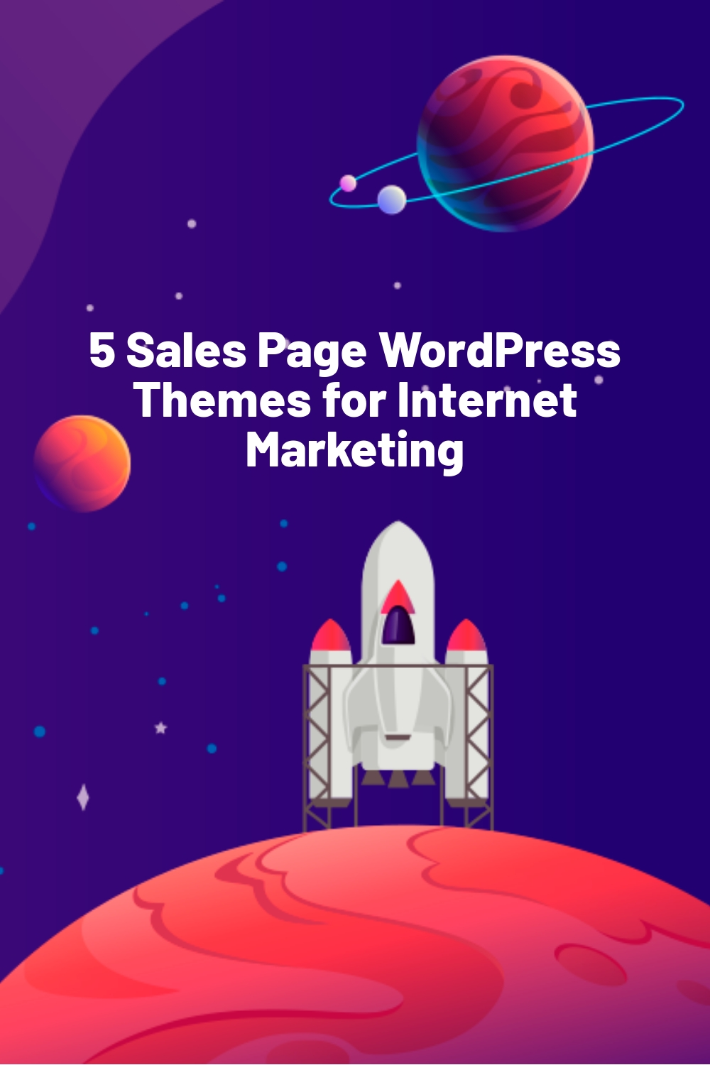 5 Sales Page WordPress Themes for Internet Marketing